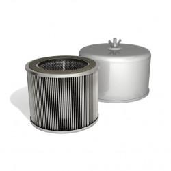 Vzduchový filter s integrovaným tlmením hluku FT.119.18P pre dúchadlá