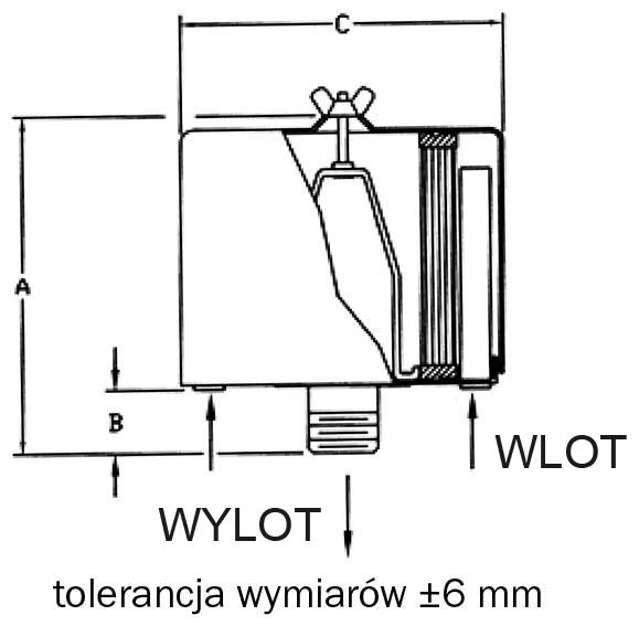Filtr powietrza FT230.30P z wbudowanym tłumieniem hałasu